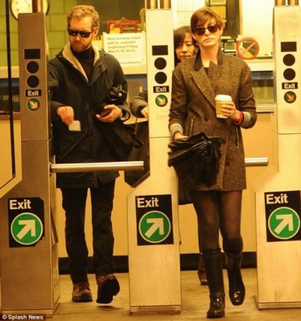 Ganadora del Oscar en el Metro De NY