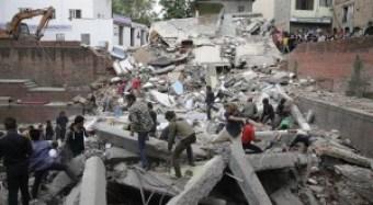Otro terremoto en Nepal; Van 16 muertos y 330 heridos