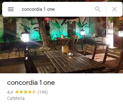 CONCORDIA 1 ONE