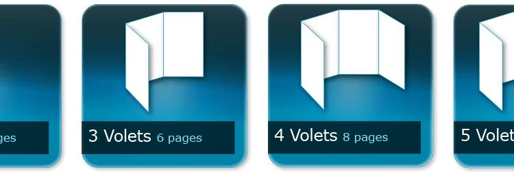 Le pli en imprimerie : les variétés possibles