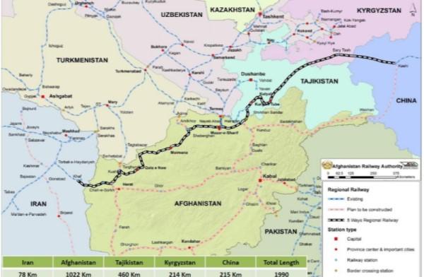 Iran and Afghanistan Inaugurate Cross-Border Railway
