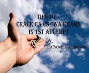 Key to success in ca cs cwa exams