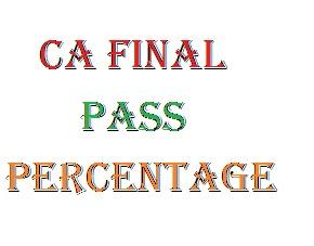 ca final Pass-Percentage