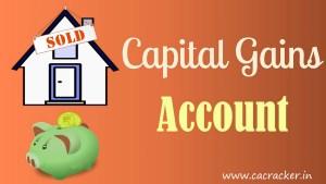 capital gain account scheme
