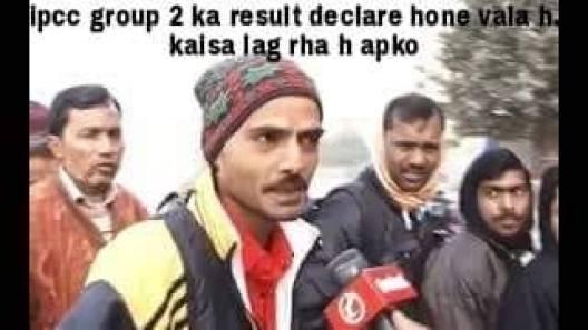 ipcc result meme