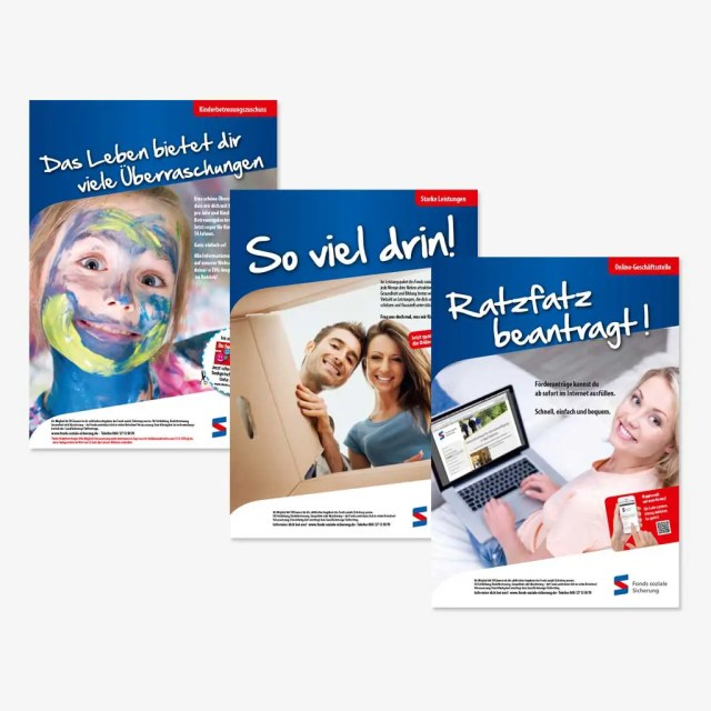 Fonds Soziale Sicherung: Anzeigen