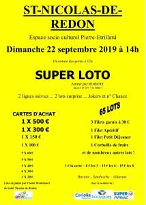 Super loto @ Salle Pierre Etrillard