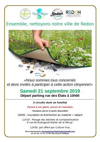 Nettoyons Redon @ Parking des halles