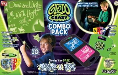 glow crazy combo pack