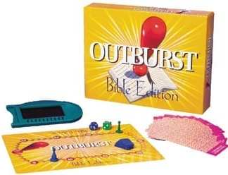 Outburst Bible Board Game
