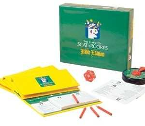 Scattergories Bible Edition Boardgame from Cactus Game Design