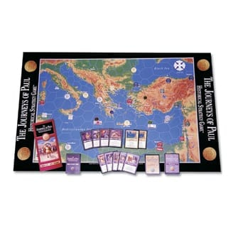 Journeys Paul Game bible toys and board games