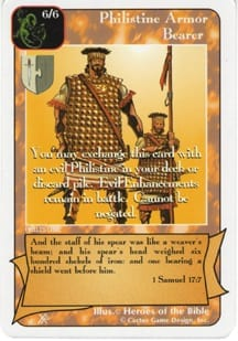 Philistine Armor Bearer card from Redemption The Card Game
