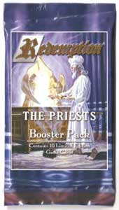 Redemption The Card Game The Priests Booster Pack
