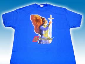 Redemption Card Game Blue T shirt