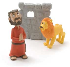 Daniel and Lion figure bible toys and games