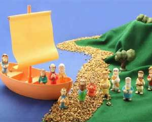 Toy Galilee figure bible toys and games