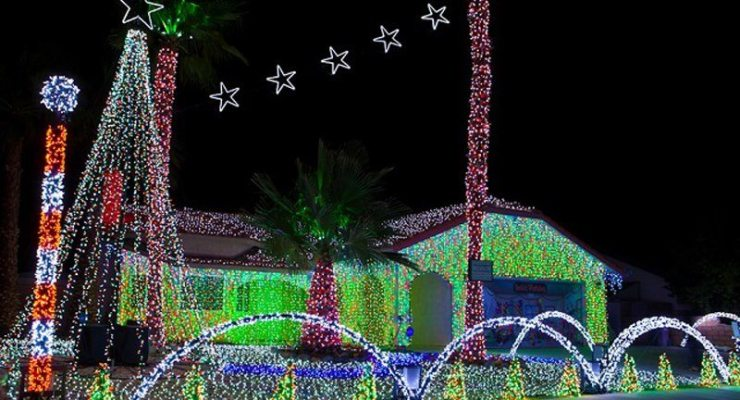 Popular Cathedral City Christmas light display won't be happening in 2016