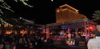 Lineup for the Rock Yard at Fantasy Springs Resort Casino in Indio
