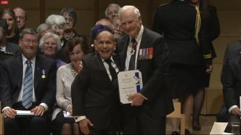 Award presented by Governor General, David Johnston.
