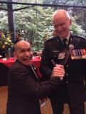 Pal-ing around with His Excellency, David Johnston