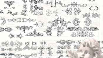 ☆【Neoclassical Style Decor CAD Design Elements V 3