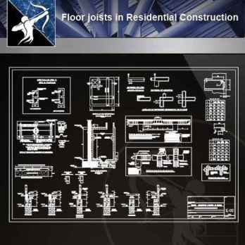 【Architecture CAD Details Collections】Flooring CAD Details V.3