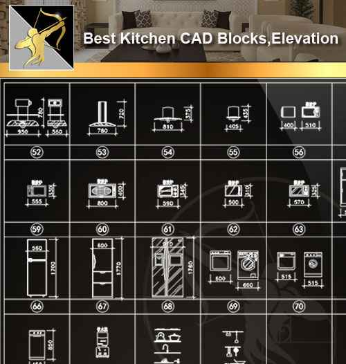 Kitchen CAD Blocks Kitchen CAD Blocks
