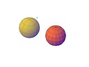 Ejemplo de la ejecucion del comando Meshsmooth donde el (1) es la selección del objeto.