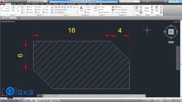 Acotaciones lineales y alineadas 1