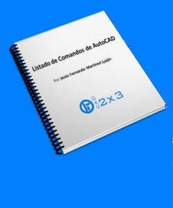 Listado de Comandos de AutoCAD