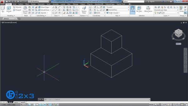 Dibuja una estructura con polilinea 3D