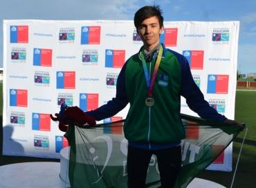 Oro para Lautaro Mantello en los Juegos de la Araucania