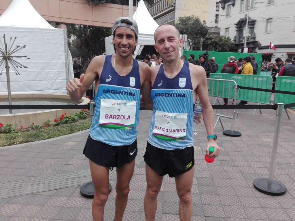Los argentinos, en el maratón panamericano 12