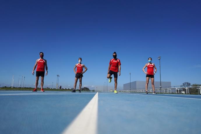 Vuelta a los entrenamientos en el Parque Olímpico 20