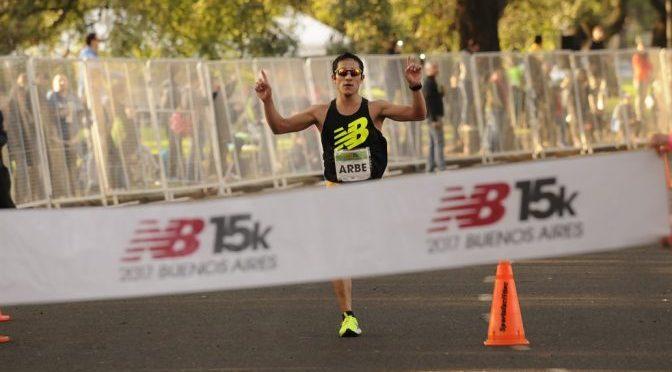Arbe y Tesuri ganaron los 15k de Buenos Aires