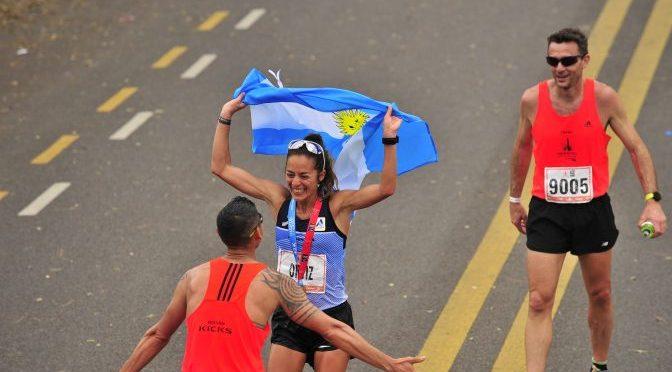 David Rodríguez y Mariela Ortiz, vencedores de otro medio maratón