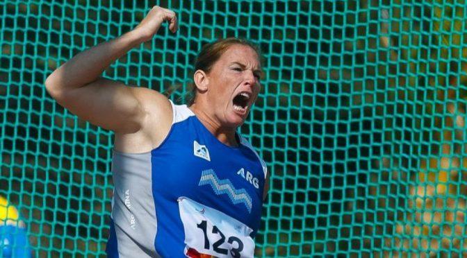 Jennifer Dahlgren, 61 veces sobre los 70 metros