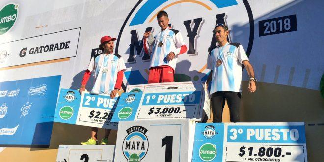 Gustavo Frencia ganó la tradicional Carrera Maya