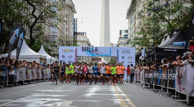 Se corre la Milla Urbana de Buenos Aires