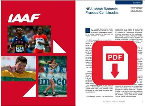 NEA 3 y 4 en Español IAAF CADA ConSudAtle ADC Santa Fe