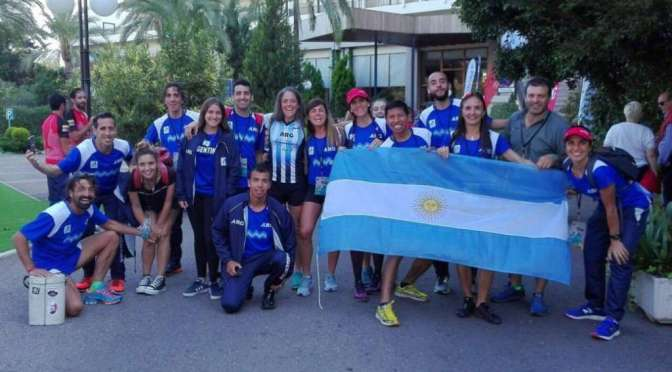 Argentinos en el Mundial de Ultra Trail en España