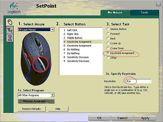 Modify Button Function