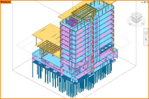 Autodesk Revit Workset View