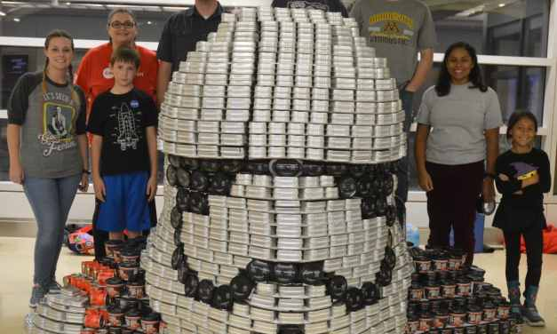 Canstruction 2017: CADD Microsystems use of Revit to Create our Entry