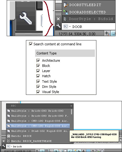 Command Line enhancements in AutoCAD Architecture 2014