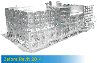 Revit Architecture 2014 - Pre 2014 support for Point Clouds