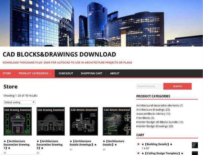CAD BLOCKS&DRAWINGS DOWNLOAD DOWNLOAD THOUSAND FILES .DWG FOR AUTOCAD TO USE IN ARCHITECTURE PROJECTS OR PLANS
