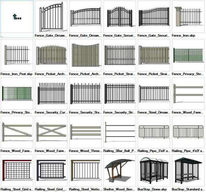 Sketchup Built Constructions 3D models download