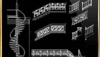 VILLA SAVOYE Cad Drawings- LE CORBUSIER – Download AUTOCAD